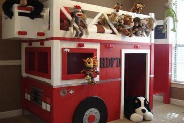 Fire-Truck-Bunk-Bed