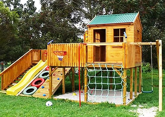 Build a Playhouse for the Kids!