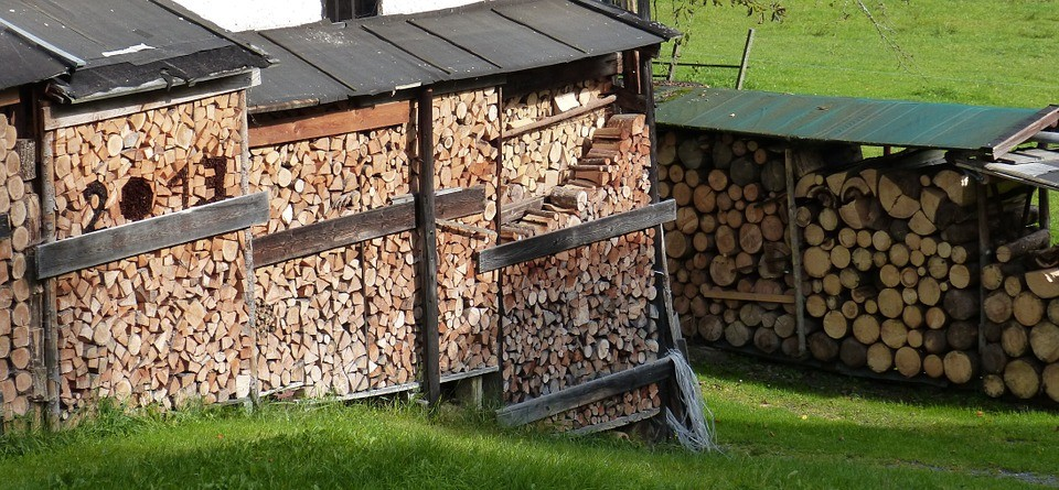 DIY Firewood Racks