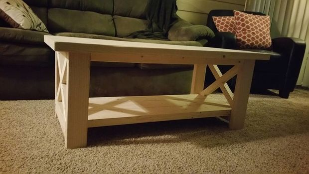 How To Build An Inexpensive Coffee Table