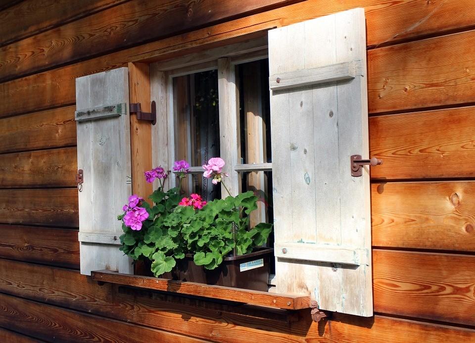 DIY Window Shutters