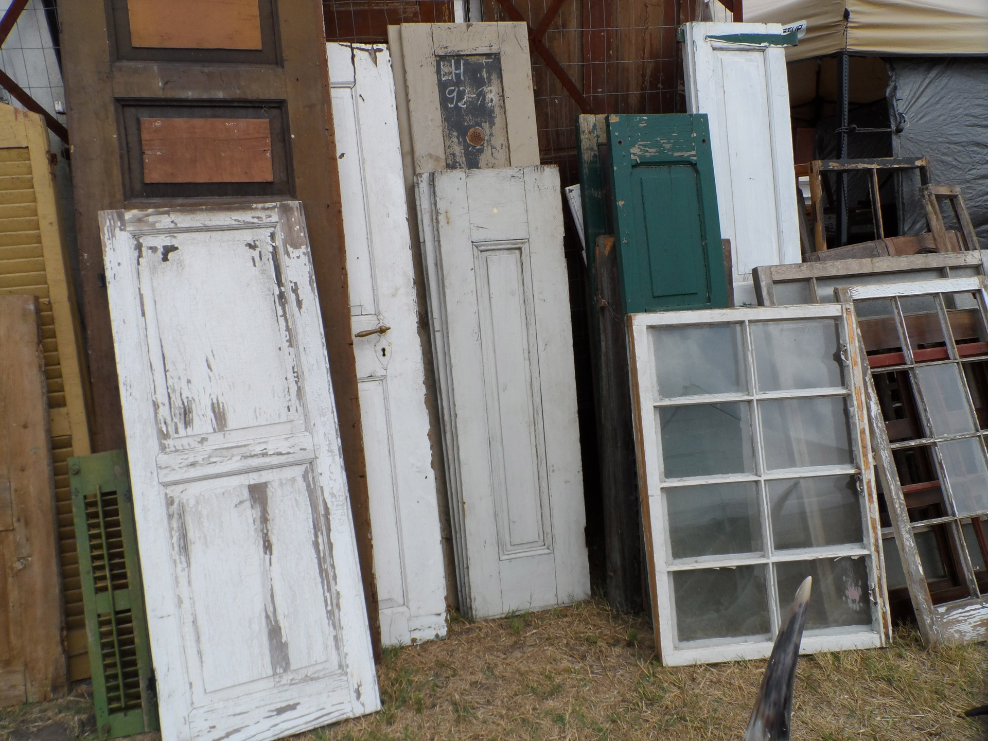 A Great Garden Shed Out Of Old Doors